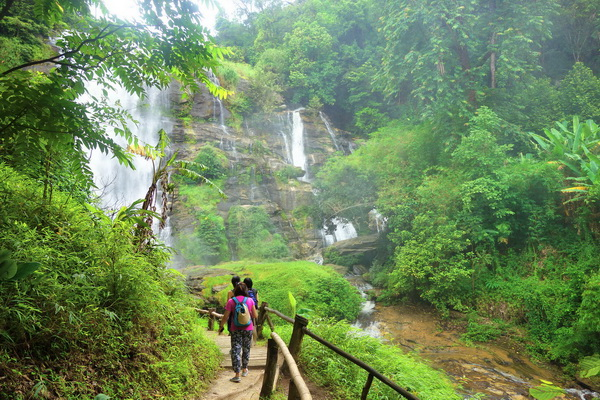 private trekking doi inthanon national park, private trekking doi inthanon, chiang mai trekking, trekking in chiang mai