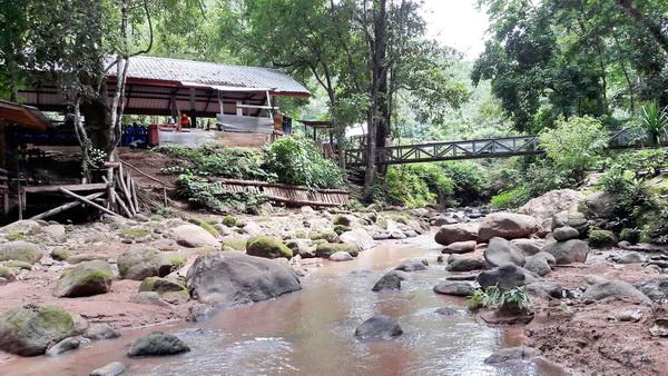 Mae Aok Hue Waterfall, mae jam, maejam, mae jam district, maejam district
