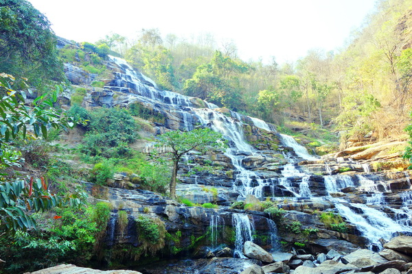 chiang mai nature package, package tours chiang mai, package tours in chiang mai, maeya waterfall