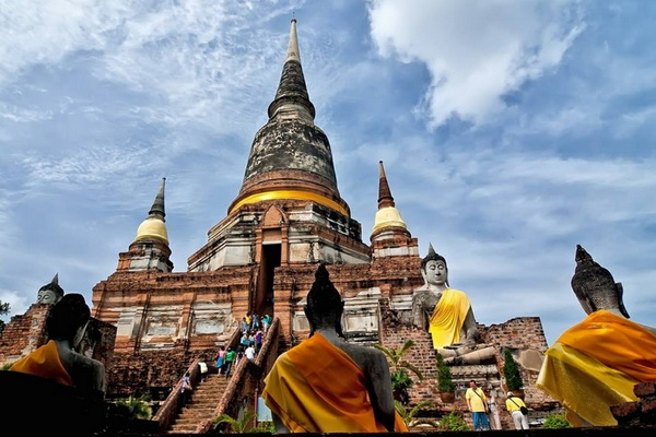 package tour chiang mai to bangkok, 3 days 2 nights package tour chiang mai to bangkok, ayutthaya historical park, ayutthaya historical park tour