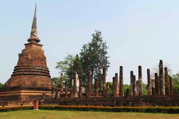 package tour from chiang Mai to sukhothai, package tour chiang Mai sukhothai, Wat Sa Sri