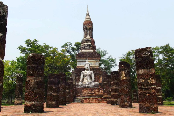 package tour from chiang Mai to sukhothai, package tour chiang Mai sukhothai, Wat Tra Phang Ngoen