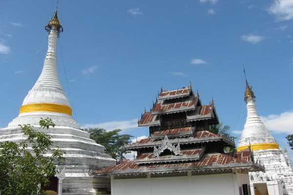 maehongson loop tour, chiang mai to maehongson loop tour, maehongson tours, doi kongmoo temple