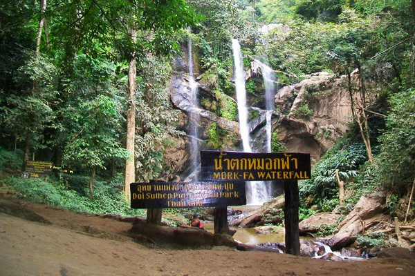 maehongson loop tour, chiang mai to maehongson loop tour, mae hong son package tours, mokfah waterfall