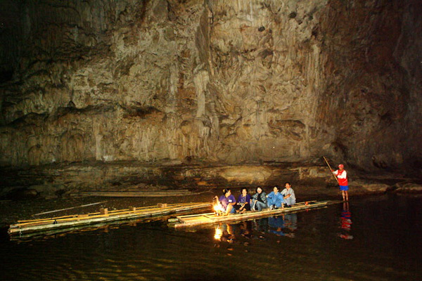 package tour rafting along pai river, package tour pai, maehongson tour packages, tham lod, lod cave