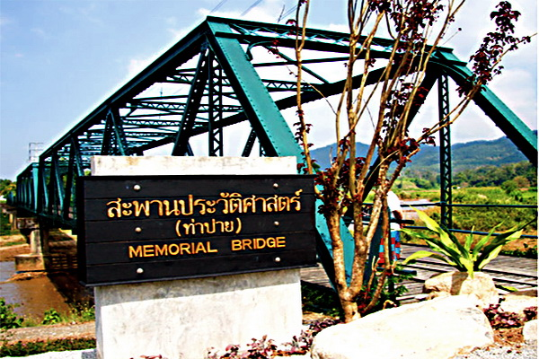 maehongson loop tour, chiang mai to maehongson loop tour, mae hong son tour packages, world warII memorial bridge