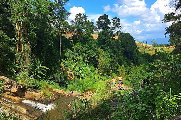 package tour mae jam - mae hong son - pai, package tour chiang mai to pai, maehongson tour packages, maehongson tours, mor pang waterfll, morpang waterfll