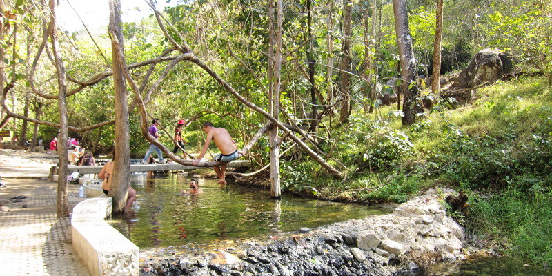 Tha Pai Hot Spring Is A Lovely Natural Hot Spring And Nice