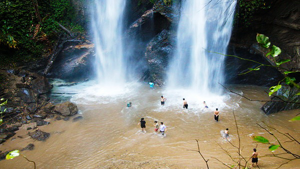 mok fa waterfall, doi suthep - pui national park, attractions in chiang mai