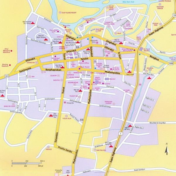 Amphoe Mueang Chiang Rai Attractions Chiang Rai Town
