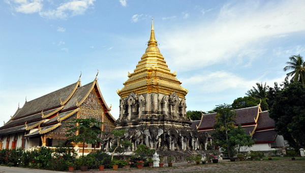 chiang man temple, wat chiang man, important temples in chiang mai