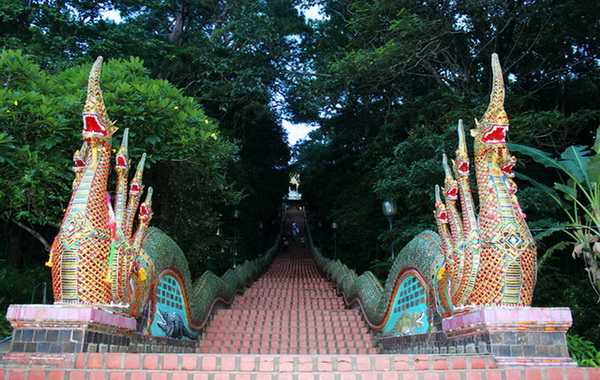 Wat Phrathat Doi Suthep or Doi Suthep Temple