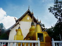 important temples in the north of thailand, wat phra that mae yen, phra that mae yen temple