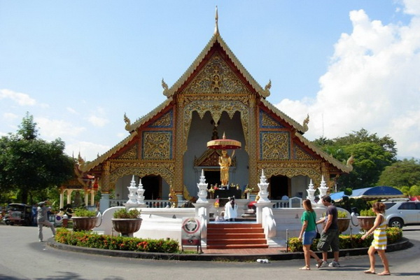 phra singh temple, wat phra singh, important temples in chiang mai