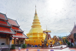 phrathat hariphunchai temple, phrathat hariphunchai, important temples in lamphun, wat phrathat hariphunchai, hariphunchai temple, wat hariphunchai