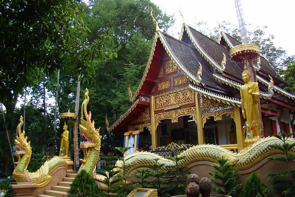 rampoeng temple, wat rampoeng, important temples in chiang mai, chiang mai temples