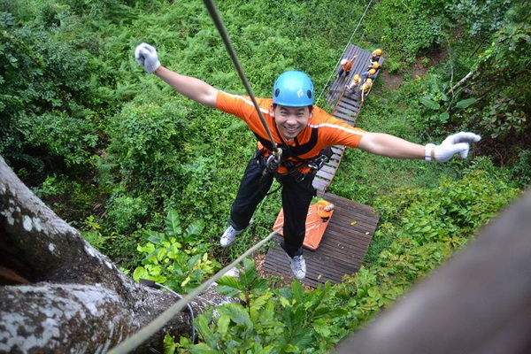 Skyline Adventure : Chiang Mai Zipline