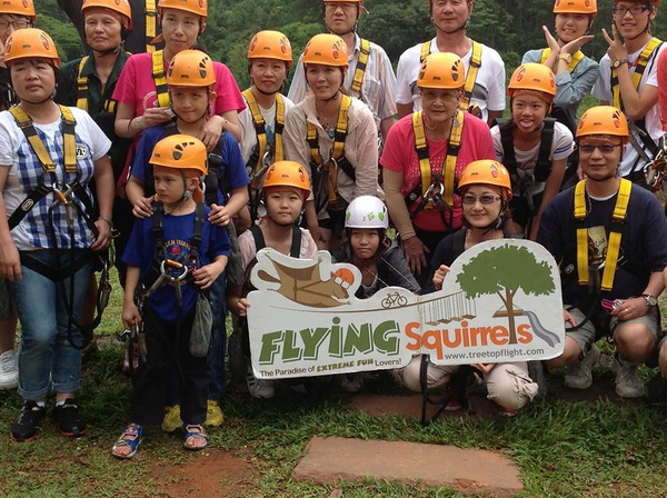 flying squirrels zipline, flying squirrels chiang mai, chiang mai zipline, chiang mai zip line