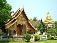 important temples in the north of thailand, Wat Chiang Man