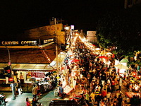 attractions in chiang mai, Sunday Walking Street