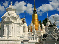 important temples in the north of thailand, Wat Suan Dok