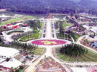 chiang mai attractions, Royal Flora Ratchaphruek