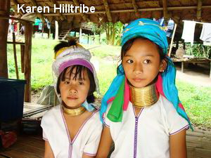 hill tribes of northern thailand, karen
