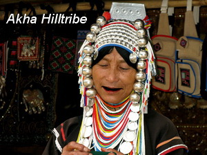 hill tribes of northern thailand, akha