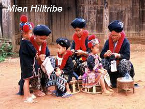 hill tribes of northern thailand, mien