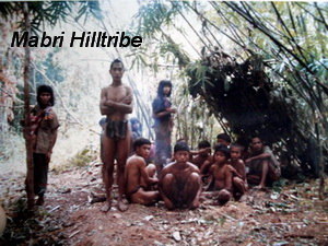 hill tribes of northern thailand, mlabri