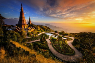 national parks in the north of thailand, Doi Inthanon National Park