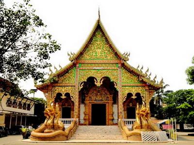 Wat Mahawan, mahawan temple, wat mahawan lamphun