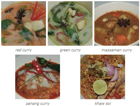 asia scenic thai cooking school, curry