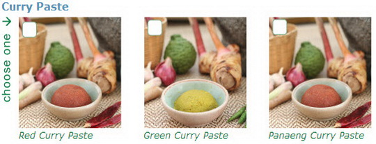 baan thai cookery school, curry plaste