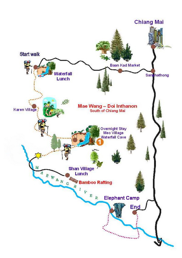 chiang mai trekking, chiang mai trek, chiang mai treks, trekking in chiang mai, chiang mai trekking tour, chiang mai day treks, chiang mai hiking, chiang mai hiking tour, chiang mai trekking mae wang