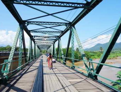 Tha Pai Memorial Bridge or Tha Pai World War II Memorial Bridge