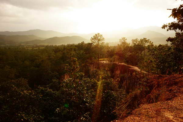 pai canyon, kong lan, attractions in pai