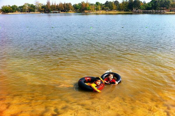 huay tung tao, huay tung toa lake, huay tung tao reservoir