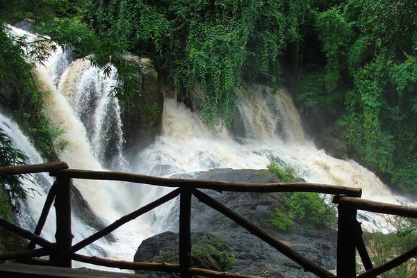 tham pla – namtok pha suea national park, tham pla – namtok pha suea, national parks in northern thailand, national parks in mae hong son, national parks in maehongson