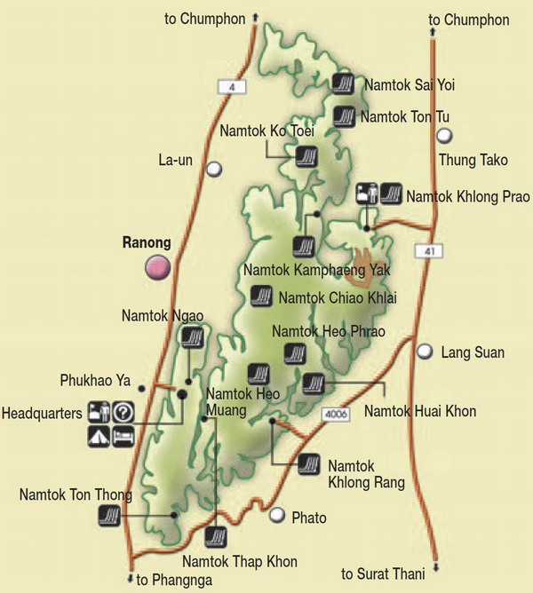 mae ngao national park map, mae ngao national park, mae ngao, national parks in northern thailand, national parks in mae hong son, national parks in maehongson