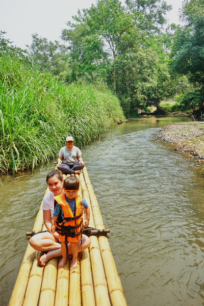 bamboo rafting in mae wang, rafting in mae wang