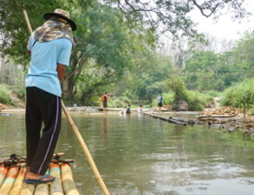 Bamboo Rafting In Mae Wang