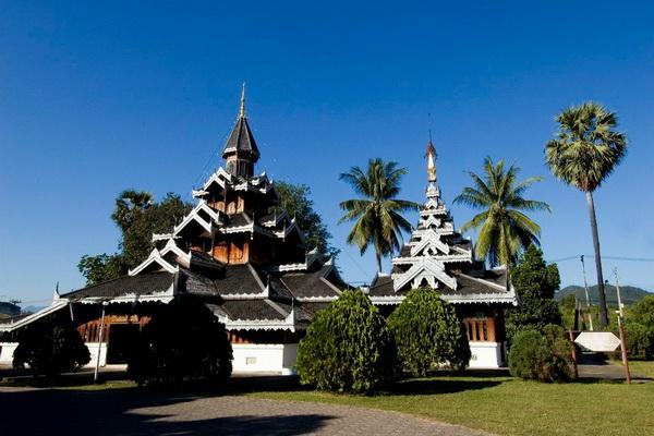 wat hua wiang, wat hua wiang maehongson, hua wiang temple, hua wiang temple maehongson