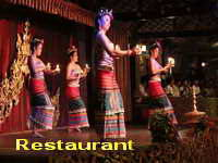 restauran in chiang mai, chiang mai restaurants, chiang mai dinner, dinner in chiang mai