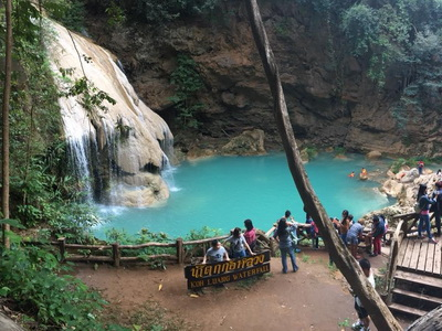 koh luang waterfall, kho luang waterfall, koh luang waterfall lamphun, kho luang waterfall lamphun, attractions in lamphun