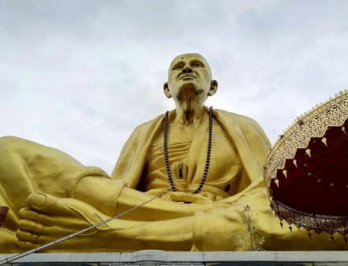 Kruba Sri Wichai Monument Lamphun