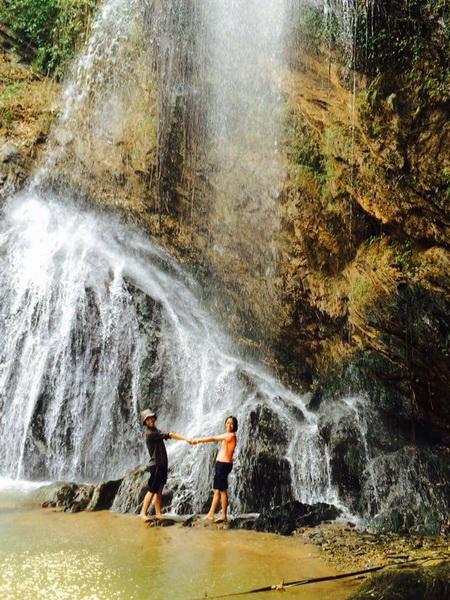 tad mok waterfall, mae khoi waterfall, tadmok waterfall, tad mhok waterfall, attractions in phrae