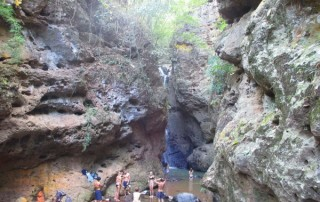 pem bok waterfall, pam bok waterfall, tour pai green season, tour pai, budget tour in pai, pai join in group tour