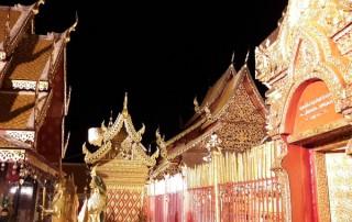 chiang mai evening tour, tour doi suthep in the evening, doi suthep evening tour