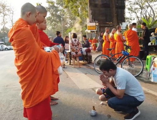 Budget12 : Offering to monks